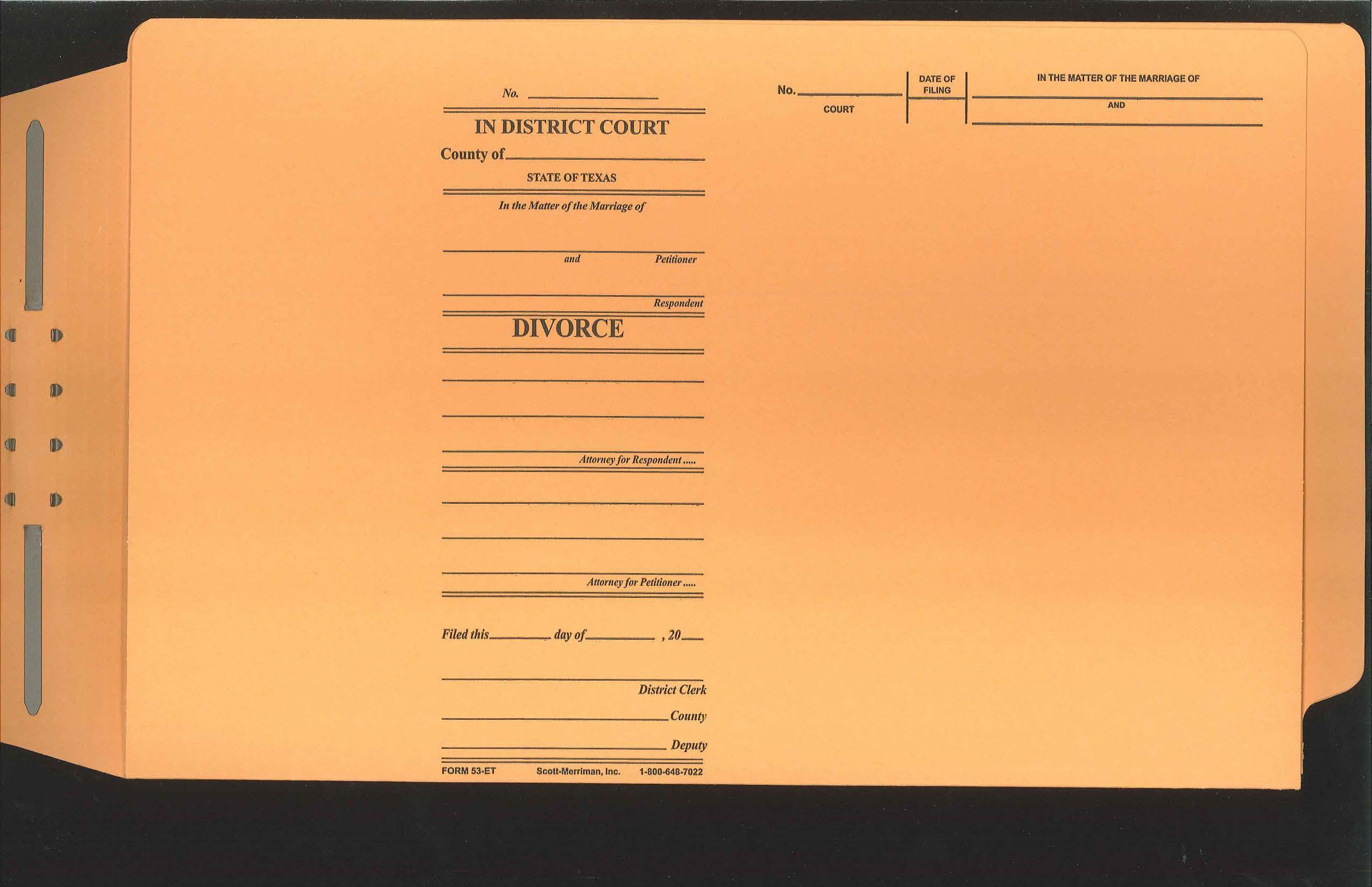 End Tab Form 53