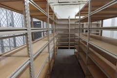 LOVING COUNTY DISTRICT CLERK – Box Storage Shelving